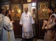 Владика Атанасије беседи на Светој Литургији у манастиру Драганац