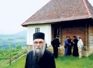 протосинђел Николај у етно-селу Милоја Стевановића